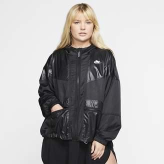 Nike Women's Cargo Jacket (Plus Size Sportswear Windrunner