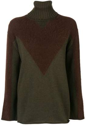 P.A.R.O.S.H. roll neck sweater