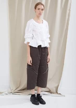 Comme des Garcons Wool Herringbone Stripe Pants