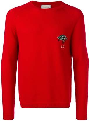 Gucci turtle pattern sweater