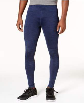 Macy's ID Ideology Men's Space-Dyed Zip Running Leggings, Created for