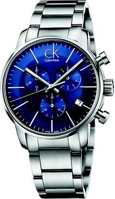 Calvin Klein City Men's Chronograph Steel Bracelet Watch