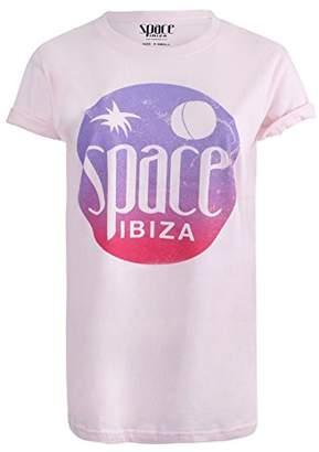Space Women's T-Shirt,(Manufacturer Size:Medium)