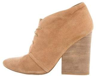 Matt Bernson Pointed-Toe Suede Booties