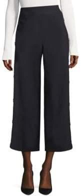BOSS High-Waist Wide-Leg Pants