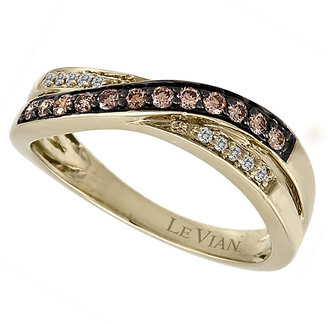 Le Vian Gold 0.25ct Chocolate Diamond Ring