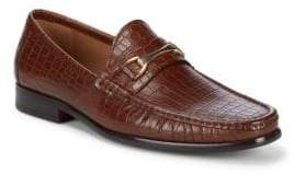 Saks Fifth Avenue Donatello Leather Loafers