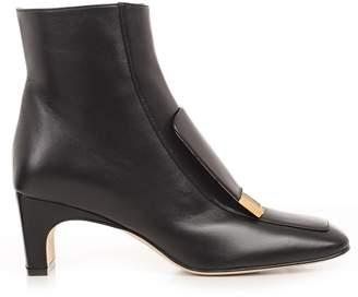 Sergio Rossi Plaque Applique Boots