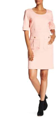 Love Moschino Abito Tubino Elbow Sleeve Dress