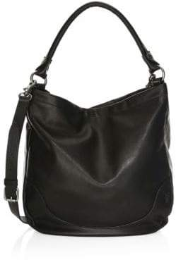 Frye Melissa Hobo Leather Shoulder Bag