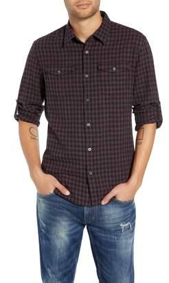 John Varvatos Check Flannel Shirt