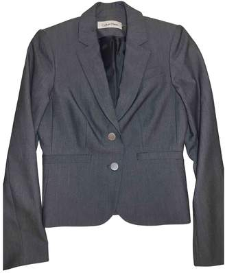 Calvin Klein Grey Jacket for Women