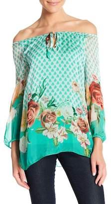 Luma Floral Print Top