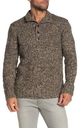 Grayers Jennings Heavy Knit Wool Blend Mock Neck Sweater