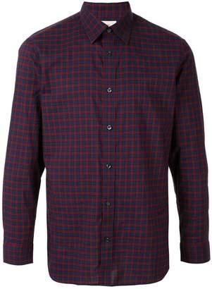 Kent & Curwen plaid print shirt