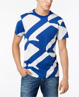 G Star Men's Geometric T-Shirt