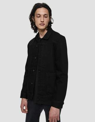Levi's Type II Worn Trucker Jacket in Nero