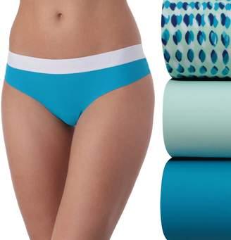 New Balance Women's 3-pack Premium Performance Thong Panties NB4048-3