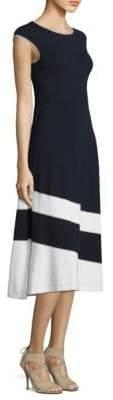 Escada Dariar Knit A-Line Dress
