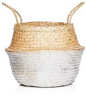 Olli Ella Silver Medium Belly Basket