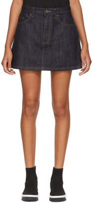 Marc Jacobs Indigo Denim Miniskirt