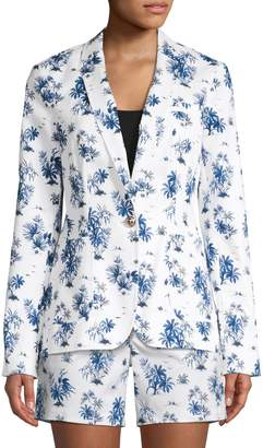 Tommy Hilfiger Printed Stretch Jacket