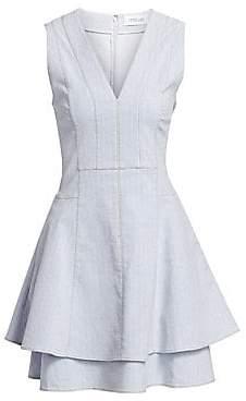 Derek Lam 10 Crosby Women's Denim Fit-&-Flare Dress