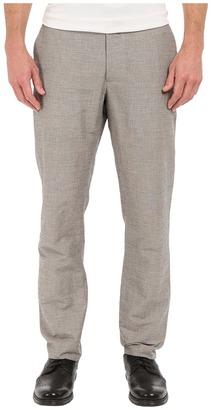 Perry Ellis Slim Fit Linen Cotton End on End Flat Front Pants $59.99 thestylecure.com