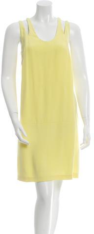 Alexander WangAlexander Wang Silk Cutout Dress