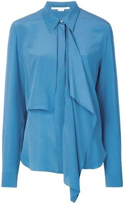 Stella McCartney draped front shirt
