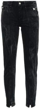 Givenchy panel detail split hem jeans