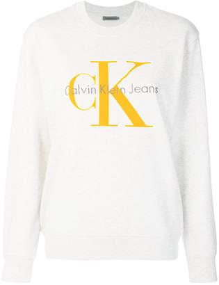 Calvin Klein Jeans large logo sweatshirt