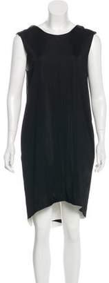 Stella McCartney Sleeveless Ruffle-Trimmed Dress