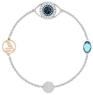 Swarovski Remix Crystal Eye Symbol Bracelet