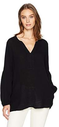Velvet by Graham & Spencer Women's Bubble Gauze Tunic