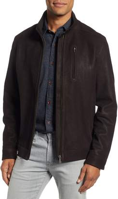 Rodd & Gunn Westhaven Distressed Leather Bomber Jacket