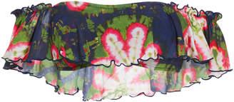 Salinas Off-The-Shoulder Floral-Print Bikini Top