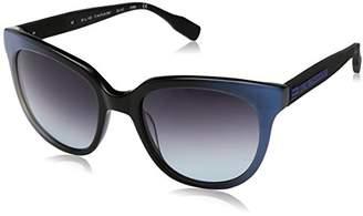 Elie Tahari Women's EL 147 OXBL Cateye Sunglasses