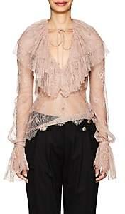 Philosophy di Lorenzo Serafini Women's Floral Lace Blouse - Pink