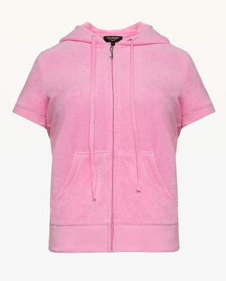 Juicy Couture Microterry Short Sleeve Robertson Jacket