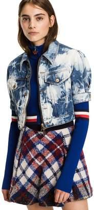 Tommy Hilfiger Bleach Short Sleeve Denim Jacket