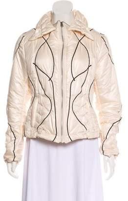 Issey Miyake Patterned Puffer Jacket