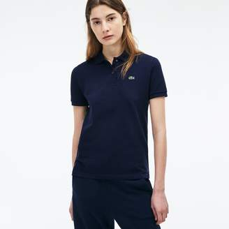 161e4d6240 Lacoste Women s Classic Fit Soft Cotton Petit Pique Polo Shirt