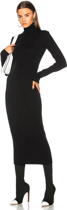 Haider Ackermann Turtleneck Sweater Dress $925 thestylecure.com