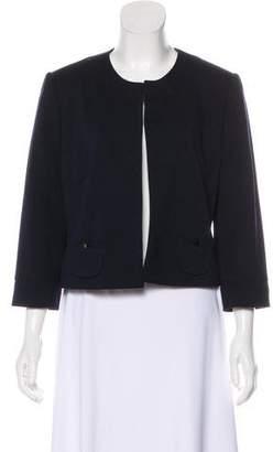 Calvin Klein Scoop Neck Open-Front Jacket w/ Tags