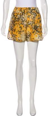 Stella McCartney Silk Camo Shorts