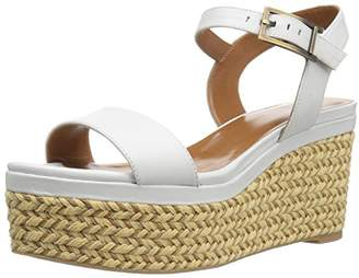 Aquatalia Women's Cassidy Calf Wedge Sandal,5.5 M US