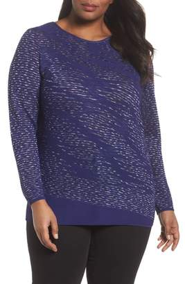 Nic+Zoe This Is Living Knit Top