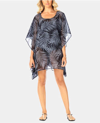 Swim Solutions Printed Caftan Cover-Up, Women Swimsuit