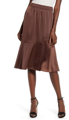 Vero Moda Important Asymmetrical Ruffle Skirt